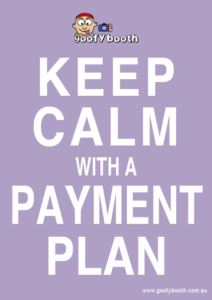 Pay off your hire with a Goofy Payment Plan